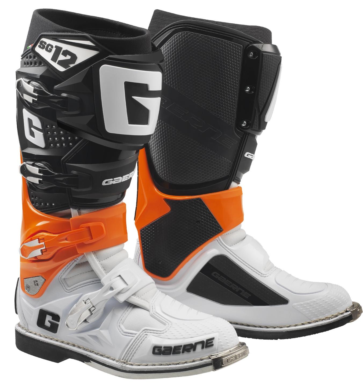 078 GaerneThe Boot 122174 OrangeBlackWhite OFFROADSG CoMX OuTPikZX