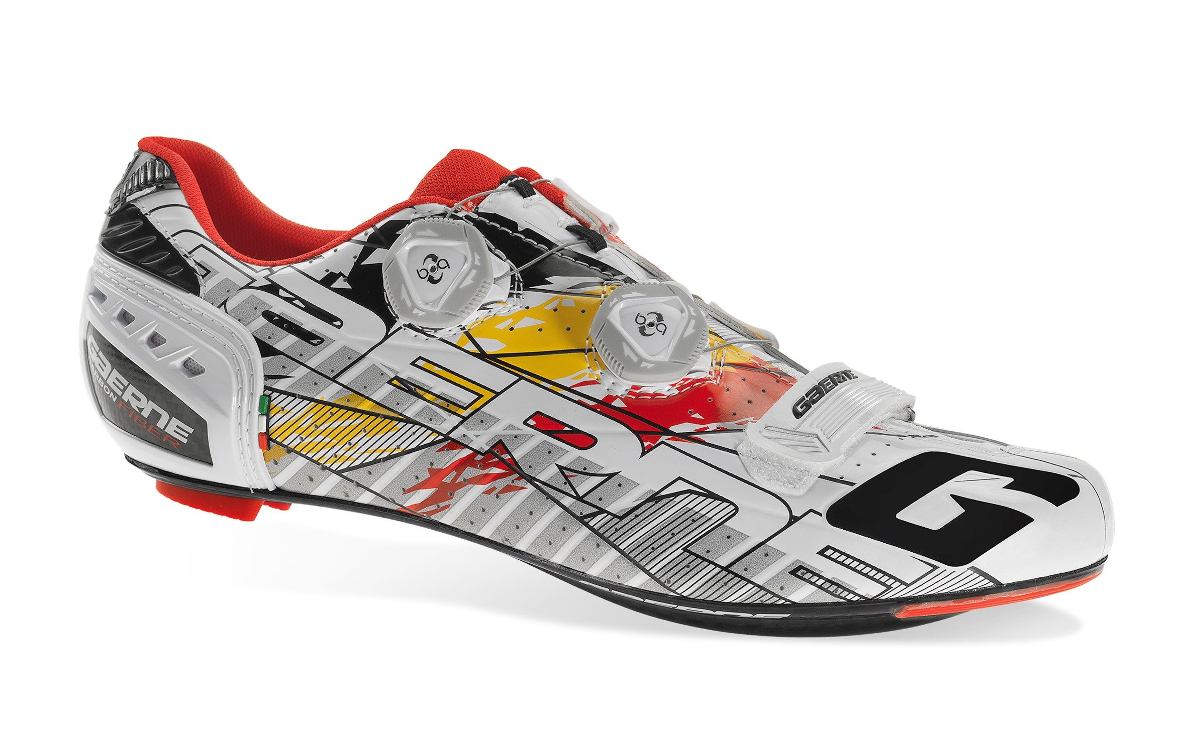 3280-030 CARBON G.STILO RED/YELLOW/WHITE LIMITED EDITION